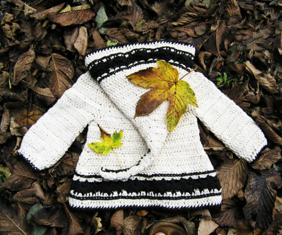Lutin Marguerite, crochet pattern by Sylvie Damey http://SylvieDamey.com