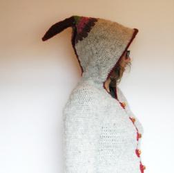Loup, original crochet pattern by Sylvie Damey